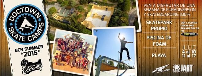 Doctown Skate Camps  - Tus Campamentos de Verano 100% skateboarding!