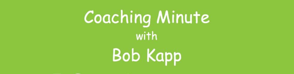 Coaching Minute