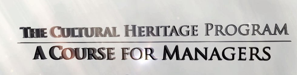 The Cultural Heritage Program: A Course for Managers
