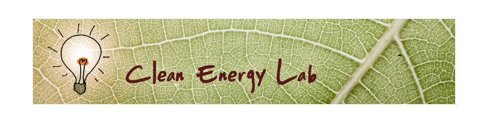 The Clean Energy Laboratory
