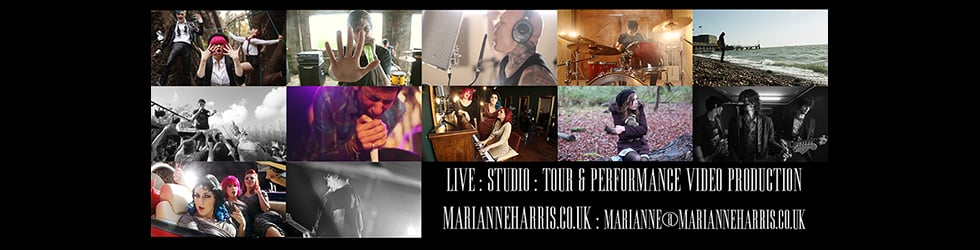 Marianne Harris | studio/festival diaries and live videos