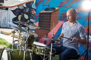 Drummer Joe Costello's Channel