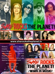 She Rocks The Planet!™