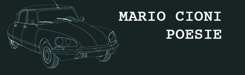 Mario Cioni Poesie
