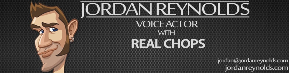Jordan Reynolds Voice Talent
