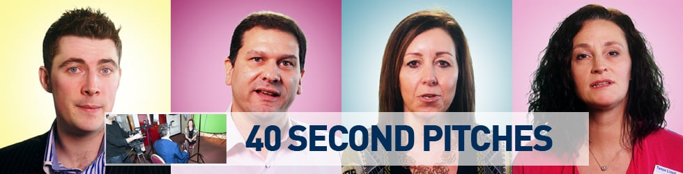 40 Second Pitches