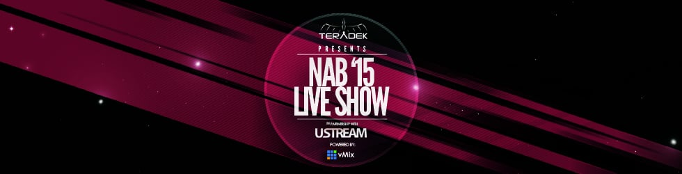 NAB 2015 Teradek Live Show