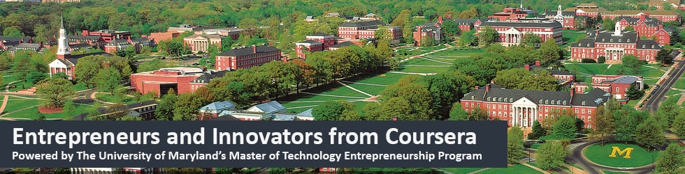 Entrepreneurs and Innovators from Coursera