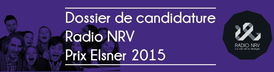 Candidature au prix Elsener