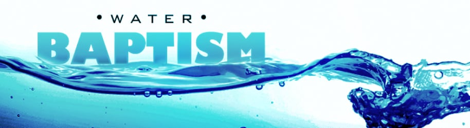 Water Baptism Videos