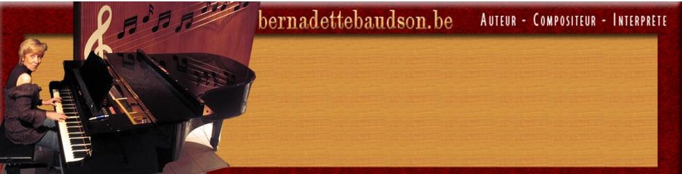 Bernadette Baudson auteur-compositeur interprète