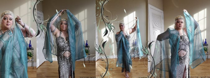 Aziza Al-Tawil Belly Dance