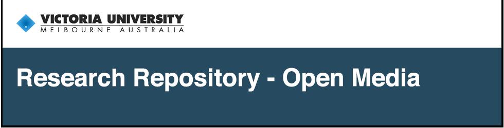 VU Research Repository - Open Media