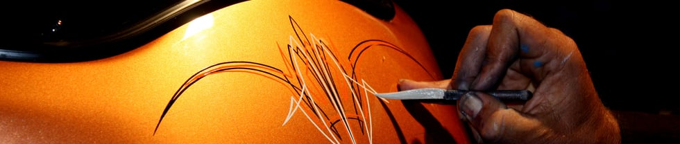 Letterfly Pinstriping