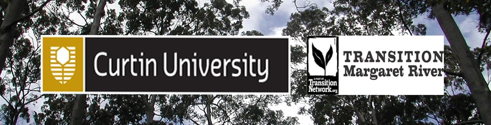 Sustainability Seminars presented by CUSP and Transition Margaret River at the Margaret River Campus of Curtin University