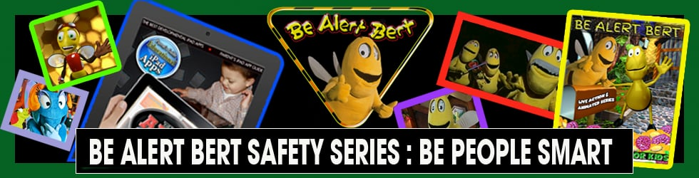 Be Alert Bert Children's Live Action & Animated Series