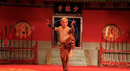 少林釋行武大師 (袁振武) Shaolin Warrior Monk Shi Xing Wu (Master Yuan)