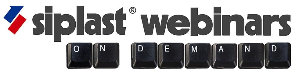 Siplast Webinars On Demand