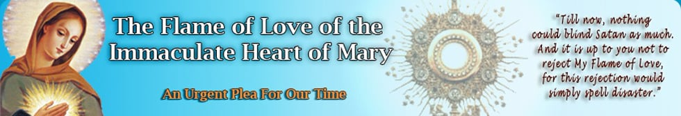 The First National Conference of the Flame of Love of the Immaculate Heart of Mary