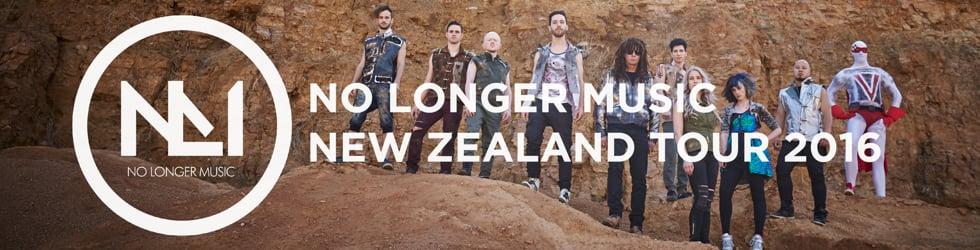 No Longer Music New Zealand Tour 2016