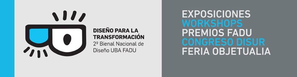 BDSÑ 2015 2º Bienal de Diseño FADU UBA