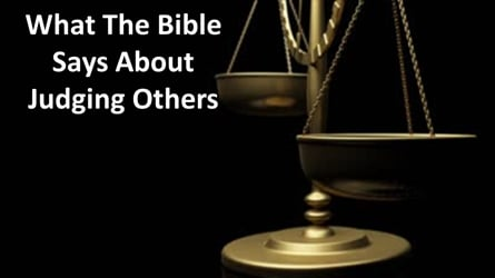 What The Bible Says About Judging Others