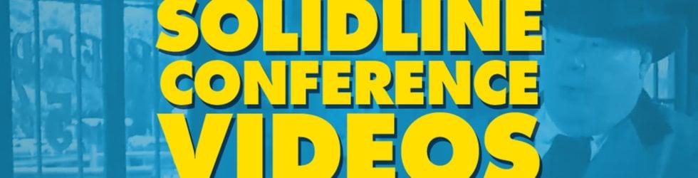 SolidLine Conference Videos