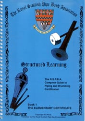 Structured Learning Elementary Bagpipe Instruction Videos
