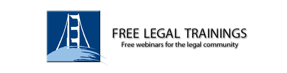 Free Legal Trainings