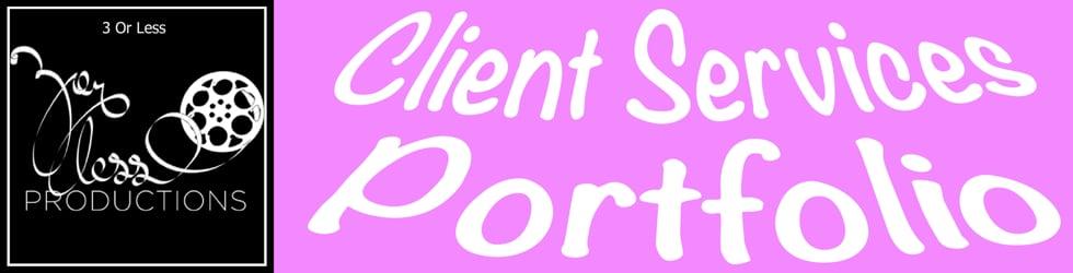 Client Services Portfolio