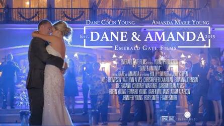 Amanda + Dane// Grand Island Mansion Wedding