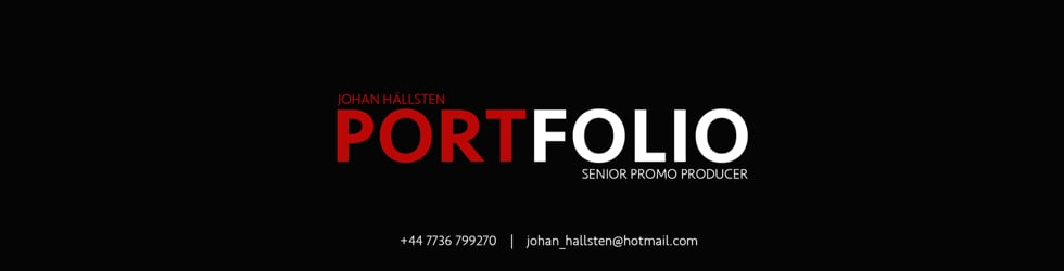 Portfolio - Johan Hällsten