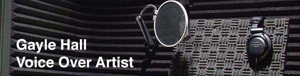 Gayle Hall Voice Over Artist