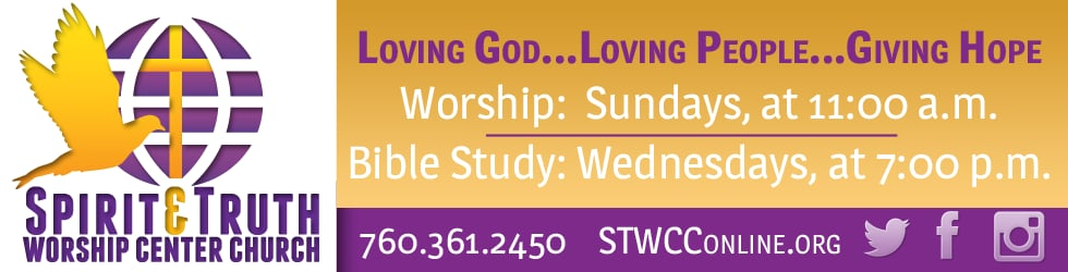 STWCC Sunday Services