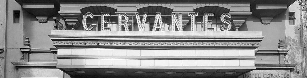 CINE TEATRO CERVANTES 6 de Octubre de 1935