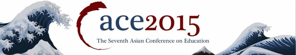 ACE2015 - The Asian Conference on Education 2015