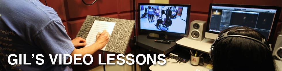 GIL'S VIDEO LESSONS
