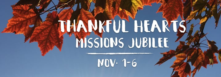 Thankful Hearts Mission Jubilee 2015