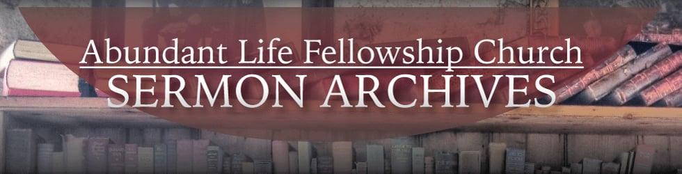 ALFC Sermon Archives