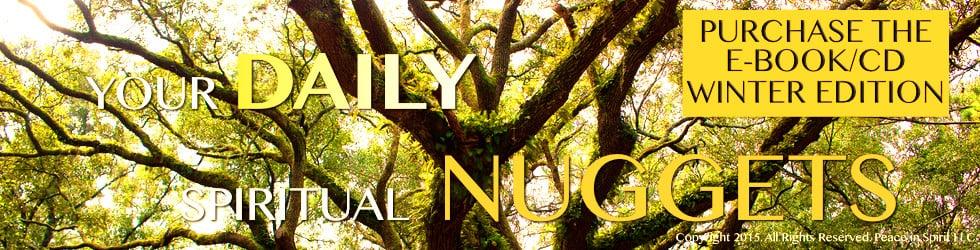 Spirit in Motion CD: Daily Spiritual Nuggets