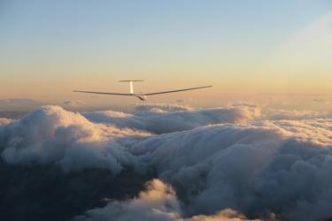 Vol à voile sur les alpes du sud ,videos de guth francis