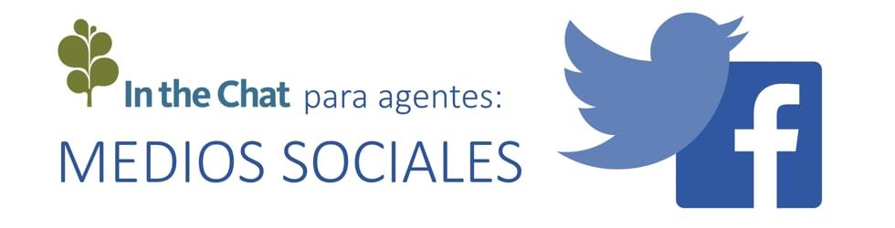 In the Chat para agentes - MEDIOS SOCIALES