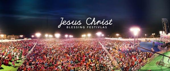Jesus Christ Blessing Festivals