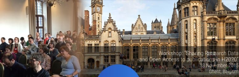 """5th OpenAIRE workshop - """"Sharing research data and open access to publications in Horizon 2020"""" (Nov. 2015)"""