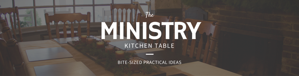 Ministry Kitchen Table