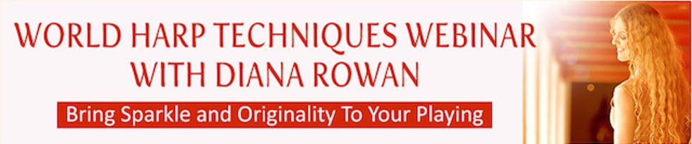 World Harp Techniques with Dr. Diana Rowan