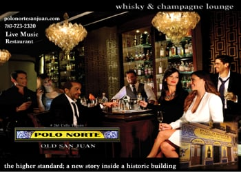 Polo Norte whisky & champagne