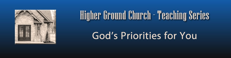 God's Priorities for You