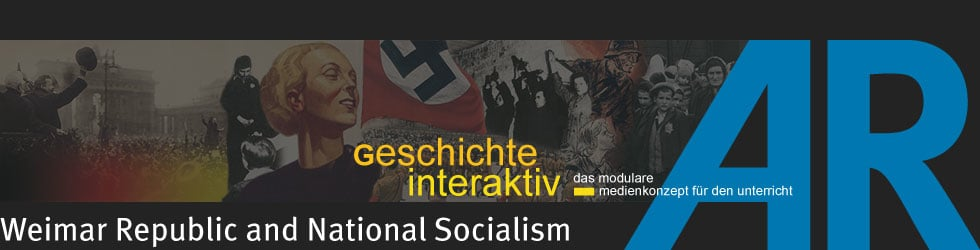 Weimar Republic and National Socialism