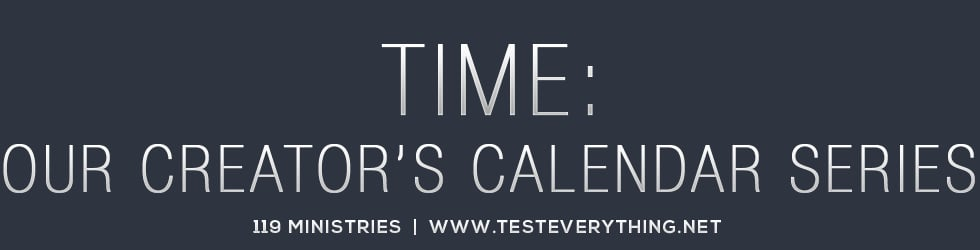 Time: Our Creator's Calendar Series from 119 Ministries